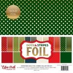 Gold Foil Dots & Stripes Collection Kit - Echo Park