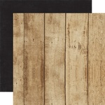 Woodgrain - Black Paper - A Perfect Christmas - Echo Park - PRE ORDER