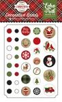 A Perfect Christmas Brads - Echo Park