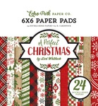 A Perfect Christmas 6 x 6 Paper Pad - Echo Park