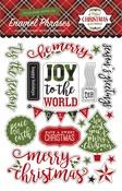 A Perfect Christmas Enamel Words & Phrases - Echo Park