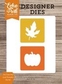 Pumpkin & Leaf Die Set - Echo Park