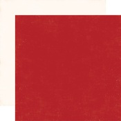 Red - Cream Paper - A Perfect Winter - Echo Park