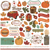 Autumn Orchard Element Stickers - Photoplay