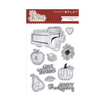 Autumn Orchard Stamps - Photoplay
