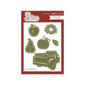 Autumn Orchard Etched Dies - Photoplay