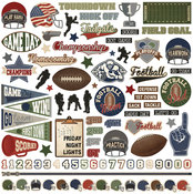 End Zone Element Stickers - Photoplay