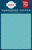 Snow Day Embossing Folder - Echo Park