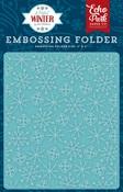 Frosty Snowflakes Embossing Folder - Echo Park