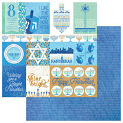 Peace & Light Paper - Happy Hanukkah - Photoplay