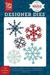 Chilly Snowflakes Die Set - Echo Park - PRE ORDER