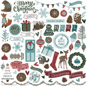 Winter Meadow Element Stickers - Photoplay
