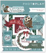 Winter Meadow Ephemera Die-Cuts - Photoplay