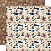 Frosty Snow Globes Paper - Cabin Fever - Carta Bella