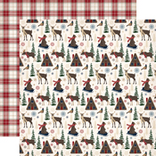 Woodland Creatures Paper - Cabin Fever - Carta Bella