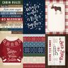 4X6 Journaling Cards Paper - Cabin Fever - Carta Bella
