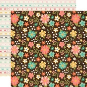 Favorite Floral Paper - I'd Rather Be Crafting - Echo Park