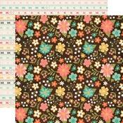 Favorite Floral Paper - I'd Rather Be Crafting - Echo Park