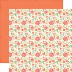 Fresh Cut Flowers Paper - I'd Rather Be Crafting - Echo Park