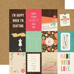 3 x 4 Journaling Paper - I'd Rather Be Crafting - Echo Park - PRE ORDER