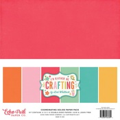 I'd Rather Be Crafting Solids Pack - Echo Park