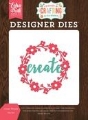 Create Wreath Die Set - Echo Park