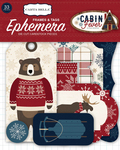 Cabin Fever Frames & Tags Ephemera - Carta Bella
