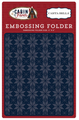 Fair Isle Embossing Folder - Carta Bella