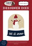 Snowman Snow Globe Die Set - Carta Bella - PRE ORDER