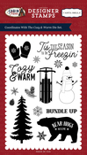 Cozy & Warm Stamp - Carta Bella