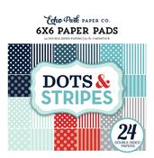 Winter II Dots & Stripes 6x6 Paper Pad - Echo Park
