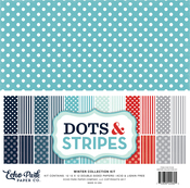 Winter II Dots & Stripes Collection Kit - Echo Park