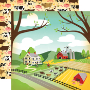 Farm Land Paper - Country Kitchen - Carta Bella