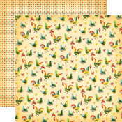Kitchen Roosters Paper - Country Kitchen - Carta Bella