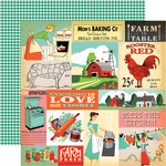 Multi Journaling Cards Paper - Country Kitchen - Carta Bella