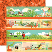 Border Strips Paper - Country Kitchen - Carta Bella