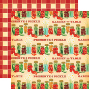 Preserve and Pickle Paper - Country Kitchen - Carta Bella