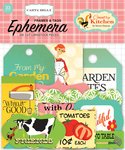 Country Kitchen Frames & Tags Ephemera - Carta Bella
