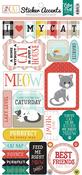 Cat Sticker Sheet - Echo Park