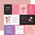 Journaling Card Paper - Ballet - Echo Park