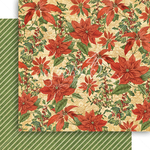 Pretty Poinsettia Paper - Winter Wonderland - Graphic 45