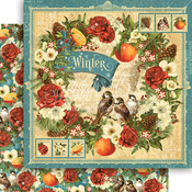 Winter Paper - Seasons - Graphic 45