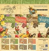 Seasons 12 x 12 Paper Pad - Graphic 45