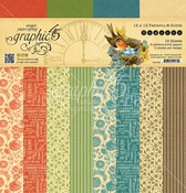 Seasons 12 x 12 Patterns & Solids Paper Pad - Graphic 45