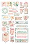 Heaven Sent 2 Puffy Stickers - Prima