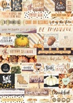 Amber Moon Word Stickers - Prima
