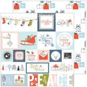 Tis The Season Paper - December Days - Pinkfresh