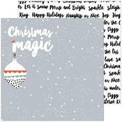 Christmas Magic Paper - December Days - Pinkfresh