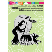 """Bubbling Trouble - Stampendous Cling Stamp 6.5""""X4.5"""""""