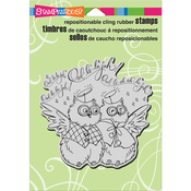 "Owl Hallelujah - Stampendous Cling Stamp 6.5""X4.5"""